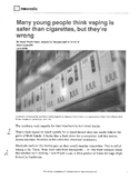Juul (E-Cig) Article and 3 level guide