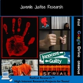 Juvenile Justice Research Project:  Real Life Teens Servin