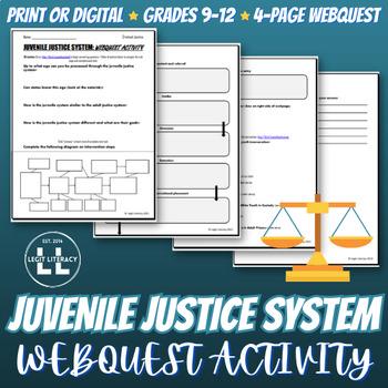 Juvenile Justice Webquest