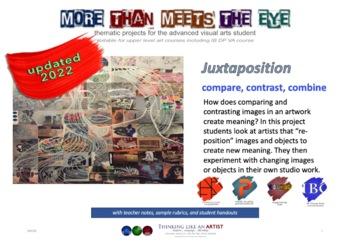 Juxtaposition - Compare, Contrast, Combine