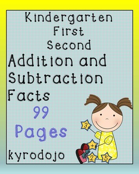 K 1 2 Adding and Subtracting