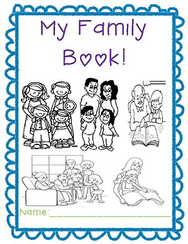My Family Book! Writing & Drawing for the Beginning of the Year! Back to School!