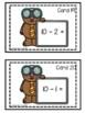 Math Fact Task Cards FREEBIE (Kindergarten and First Grade)