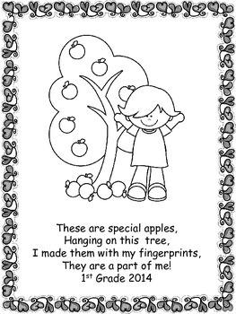 K & 1 Apple Fingerprint Keepsake