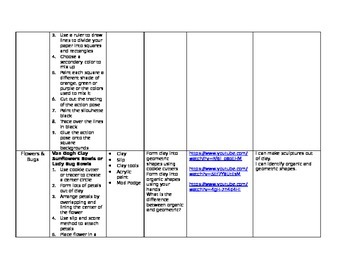 K-1 Art Curriculum