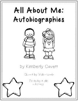 K/1 Autobiography Writing Unit