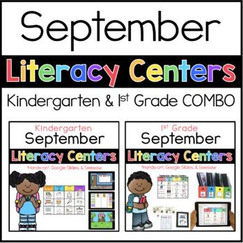 K-1 September Literacy Centers