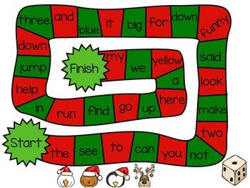K-1 Christmas Flipchart (Language Arts)