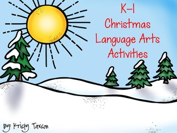K-1 Christmas Flipchart (Language Arts)