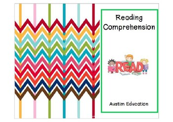 K - 1 Comprehension Worksheets