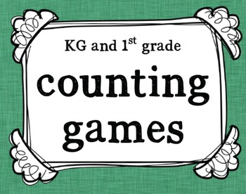 K-1 Counting Games and Activities