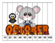K-1 Counting Puzzles- Counting by 1's, 2's, 5's, and 10's-Calendar Theme