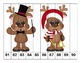 K-1 Counting Puzzles- Counting by 1's, 2's, 5's, and 10's-Reineer Theme
