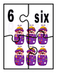K-1 Counting and Pairing Numbers With Their name and Amount-CCSS-Circus Theme