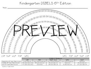 K-1 DIBELS 6th Edition Rainbow Pack