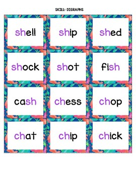 K-1 Decoding Games: CVC, Silent e, Digraphs, & Blends w/ 3 Ways to Play!