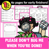 K-1 Don't Bug Me When You Are Done!
