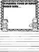 PreK-1 Escritura – Writing Prompts in Spanish