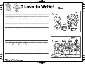 WRITING PROMPTS for K-1: Every Day