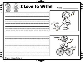 WRITING PROMPTS for Every Day K-1