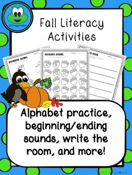 K-1 Fall Literacy Skills