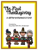 K/1 First Thanksgiving Unit