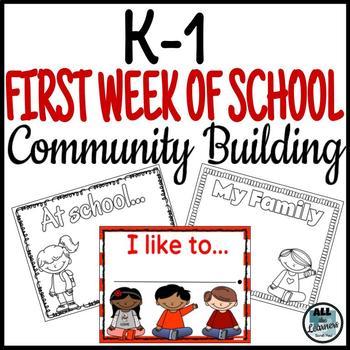 Beginning of Year Community Building {K-1 Morning Circles}