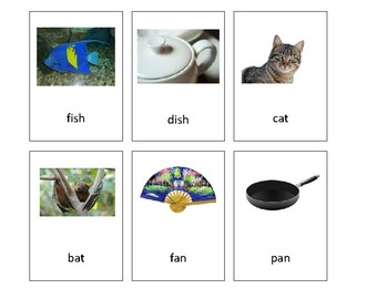Language Go fish for rhymes Pre K-1