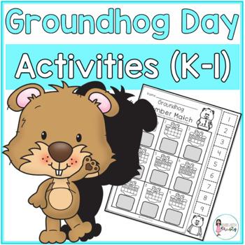 K-1 Groundhog Day Activities (NO PREP!)