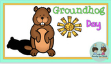 K, 1 Groundhog Day (Ebook with reading comprehension, math, and literacy)