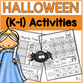 K-1 Halloween Activities