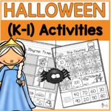 K-1 Halloween Activities