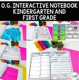 K-1 Interactive Notebook: Orton-Gillingham inspired