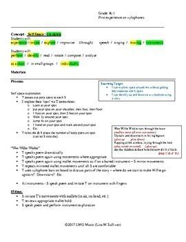 K-1 Lesson Plan - Spots & Wee Willie Winkie