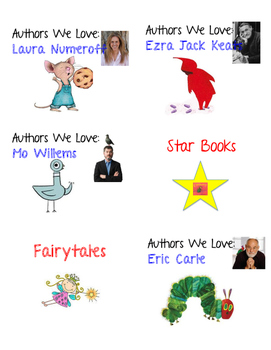K/1 Library Labels