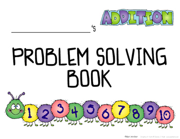 K-1 Math Problem Solving Book ... Addition
