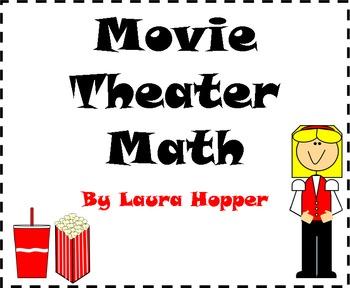 K-1 Math Worksheets (Movie Theme)