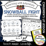 K/1 Music Lesson with Children's Literature - Rhythm Dynamics - Snowball Fight