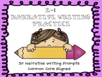 K-1 Narrative Writing Prompts