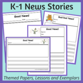 K-1 News Stories: How to Build Writing Independence