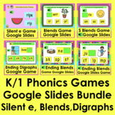 K/1 Phonics Games for Google Slides Distance Learning PDFs