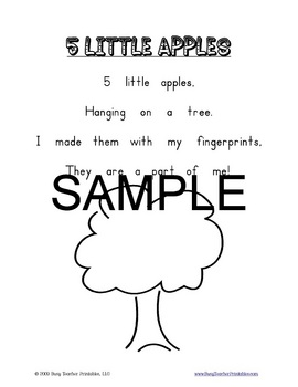 K-1 Poetry Notebook - 44 Printable Poems and Fun Illustration Ideas