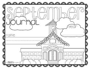K-1 Primary September Writing Journal