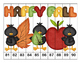 K-1 Counting Puzzles-Fall and Back to School-  1's, 2's, 5