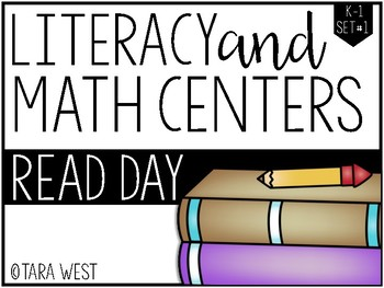 K-1 Read Day Themed Centers