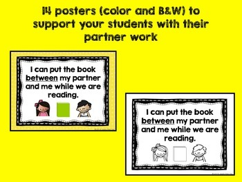 Buddy Reading Lesson Pack for K-1 (Buzzing About Books)