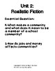 K-1 Realistic Fiction Writing Unit