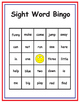 K-1 Small Group Sight Word Bingo