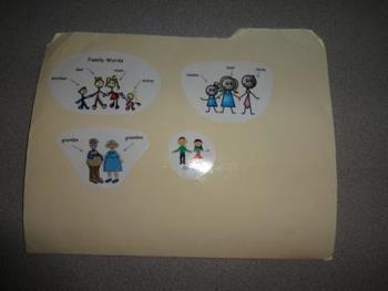 K-1 Spelling Folder