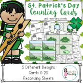 K-1 St. Patrick's Day Counting Center (0-20)